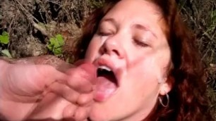 Fabulous Redhead pornstar Jennifer Van Beaver in hottest facial