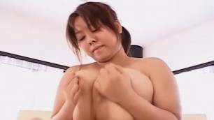 Plump Japanese Fuko Gives Great Titfuck