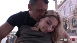 BoxTruckSex NICE STUDENT BABE ENJOYS IN SEX WITH STRANGER