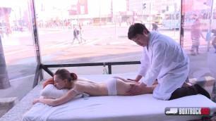 SEXY SIMONA DREWEOVA HAS SEX AFTER EROTIC MASSAGE BoxTruckSex