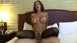 hotwiferio Hot woman in black stockings MY SONS BEST FRIEND 2