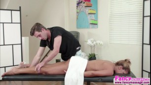 Milf Mercedes Carrera gets a massage and fucked hard