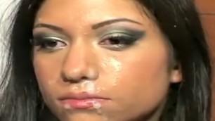 Broken Dreams in Just One Porn Scene Fiery Gullible Latina Gets Bukkaked Surpise
