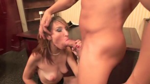 Amazing Tall babe gets fuck at the work place