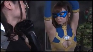 Marvelous Girls superheroine defeated superheroine