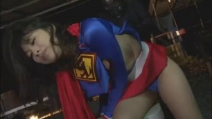 Superheroine Outdoor Insult Super Lady Lost Power superheroine