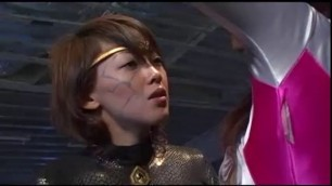 superheroine God Sentai Ranger Dyno Dragon Desperate Super Heroine