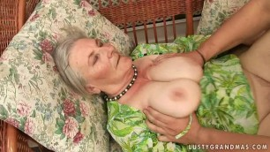 granny Margo aka Mairi fucking back