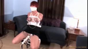 Delightful Girls bondage orgasm compilation