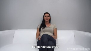 CzechCasting e0979 tereza 1322 Shes a hottie who will make your blood boil
