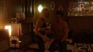 Malin Akerman nude Kate Micucci nude lesbian sex scene Easy s01e06 2016
