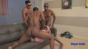Ginger Reigh Anal Big Ass Interracial Gangbang
