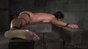 SexuallyBroken Wenona brunette with a natural body hard fucked