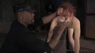 SexuallyBroken Violet Monroe Sexy Redhead anal fun
