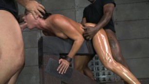 India Summer it is moistened with butter and fucked by two men sexuallybroken