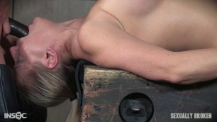 SexuallyBroken Angel Allwood she gets a dildo and a dick