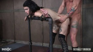 Skinny slut fuck hard Lydia Black Part 1 SexuallyBroken