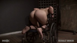 SexuallyBroken Kate Kenzi she gets hot cum on her face