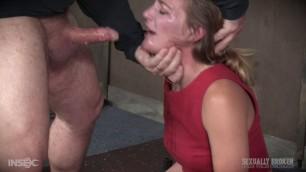 SexuallyBroken mona wales her face is very wet