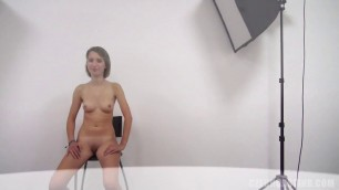 CzechCasting e1230 Barbora 3705 Slim with amazing round tits
