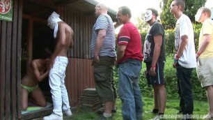 CzechGangBang a lot of girls and a lot of guys though sex