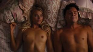 Margot Robbie Elegant Blonde The Wolf of Wall Street Sex Scenes
