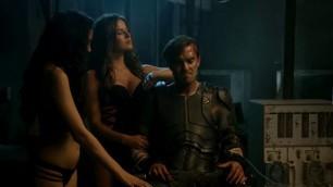 Roxanne McKee sexy Kim Engelbrecht sexy Shivani Ghai sexy Christina Chong nude looks pretty hot in sex scene Dominion s02e08 201