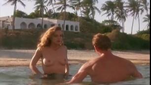 Lovely Blonde Greta Scacchi nude White Mischief 1987