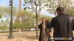 Incredible Mylene Johnson has Hardcore Public Sex in Paris BoxTruckSex