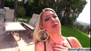 Lexi Lowe tries interracial anal pounding