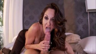 Ava Addams Good looking Brunette ava addams in bed