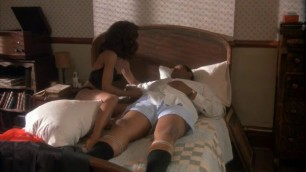 Beautiful Ebony Robin Givens nude A Rage in Harlem 1991