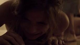 Clare Niederpruem topless in sex scene Nocturne 2016