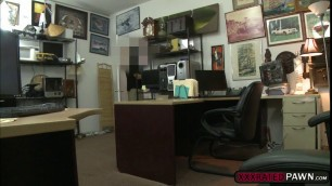 Naomi Alice ends up fucking in the office