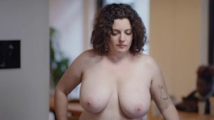 Big Tits Brunette Sara Benincasa nude - The Focus Group (2016)