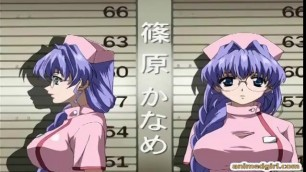 Busty hentai girl's sexual adventure cartoon sex