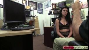 Kallie cant handle deepthroating dudes big cock