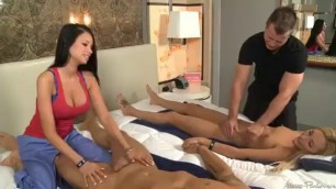 Couples massage american foursome Swinger porn