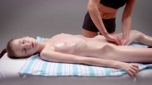 Emily Bloom and Milena D Sun Seductive Sensual Massage Nude Emily