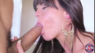 Rahyndee gets her wet pussy lick and fuck