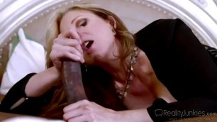 Julia Ann sucks massive black cock Fucked By A Bbc In Front Her Husband