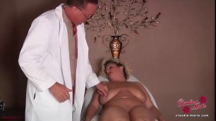 Hot Blonde CLAUDIA MARIE GETS HER FAKE TITS PUT BACK IN!