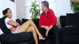 ebony DAUGHTER DOES DADDY porn 02 - SCENE 1