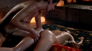 HegreArt Fiery Girls Charlotta And Adriana Female Tantric Temple Massage