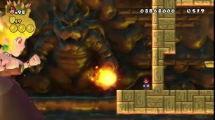 BOWSETTE Mario saves the Beautiful princess