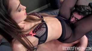 Riley Reid - I ride slaves faces