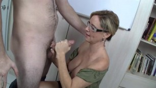 Hot Woman Jodi West Ms West Gives a Lesson in Handjobs