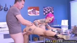 Tattooed Hottie Anna Bell Peaks - Let's Bake A Titty Cake
