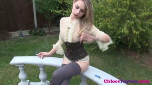 Chloe toy - beautiful blonde in sexy clothes
