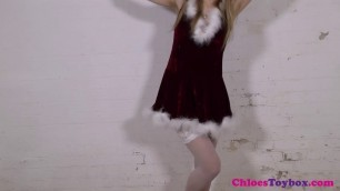 Chloe toy - girl in white stockings bind